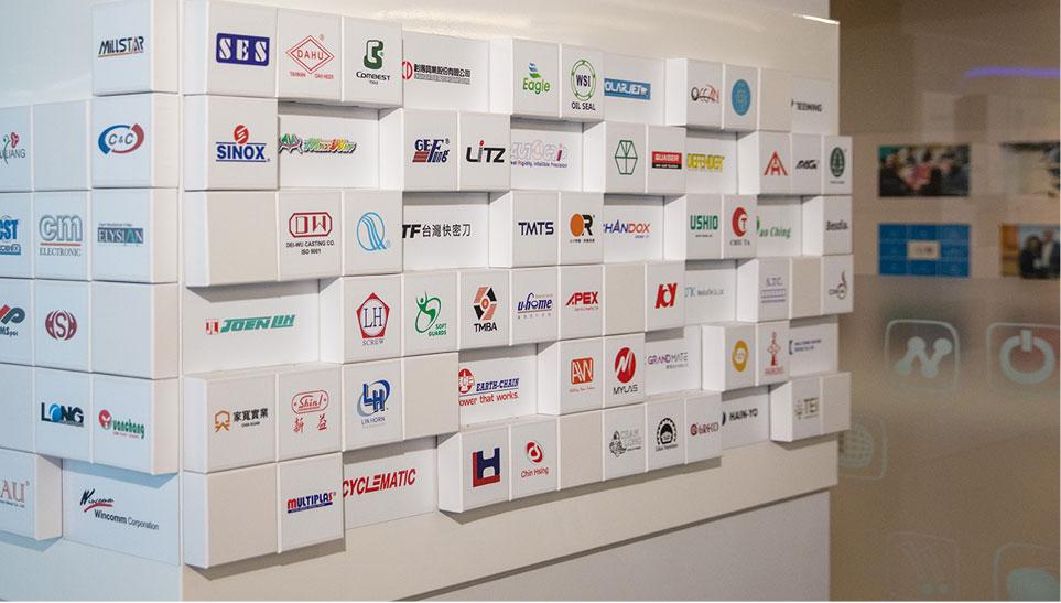 久大行銷服務客戶遍佈全台灣