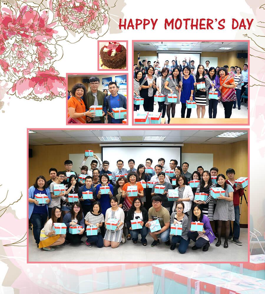 久大母親節慶祝活動