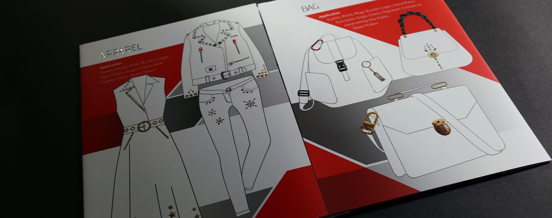 大宙金屬工業型錄設計